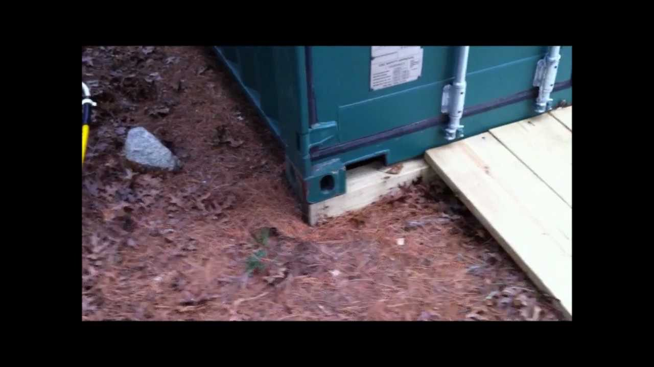 Simple Ways To Keep Your Shipping Container Off The Ground