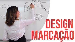 Como marcar o Design de Sobrancelhas - Técnica Gislene Ribeiro