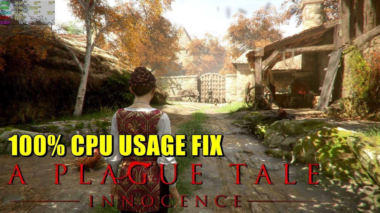 A Plague Tale Innocence: 100% HIGH CPU USAGE [ FIXED ]