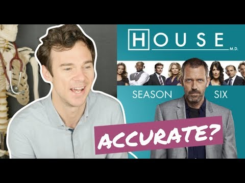 Is the medical drama House MD accurate?