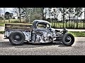 1937 FORD BOBBER RAT ROD SHOP TRUCK