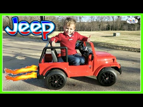 Electric JEEP Kids Car Off Road Adventures