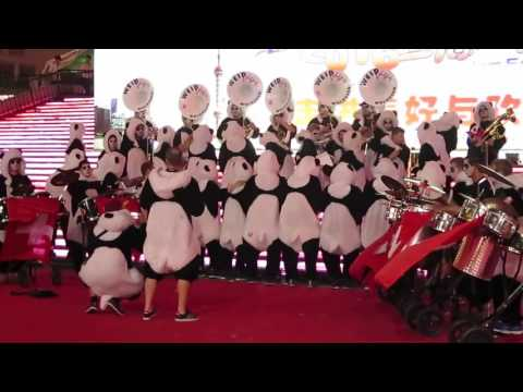 【Strawberry Alice】2016 Shanghai Tourism Festival: Weidfäger Wolhusen (Swiss Brass Band).