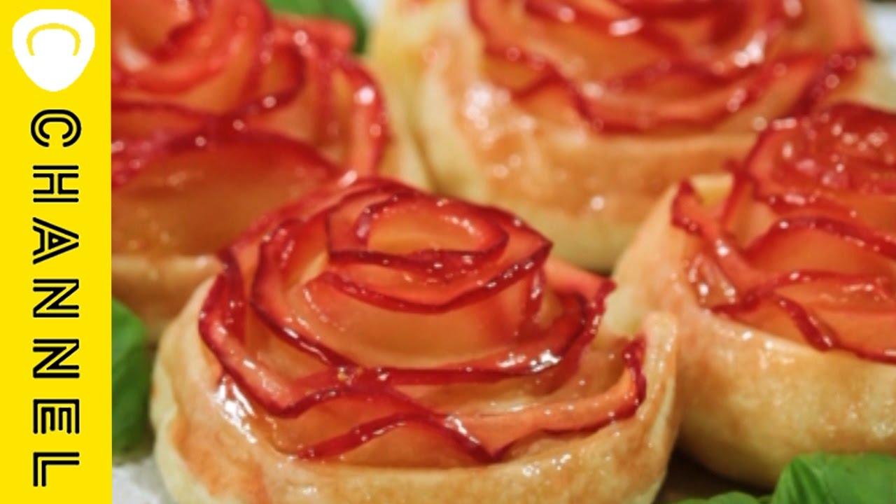 【レシピ】薔薇のアップルパイ|Rose apple pie! , YouTube