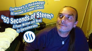 @surfermarly & @heimindanger 60 seconds of steem Contest - 60 Seconds of Steem by Jeronimo Rubio