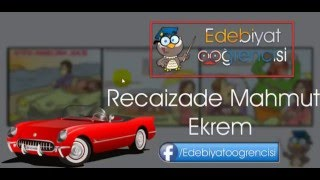 Gambar cover Recaizade Mahmut Ekrem - Eserleri - Hafıza Teknikleri - Edebiyat Öğrencisi