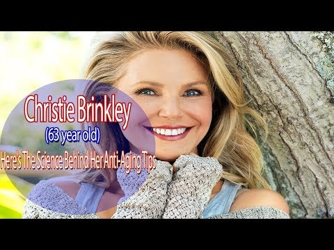Christie Brinkley, 63, Here's The Science Behind Her Anti-Aging Tips