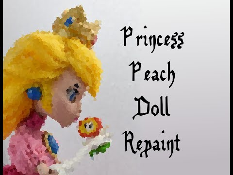 Princess Peach Doll