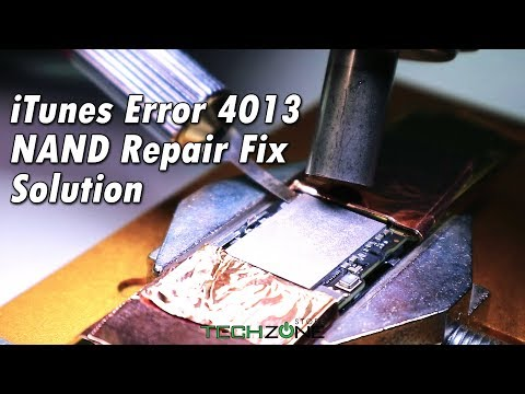 iPhone 6 NAND iTunes Error 4013 Fix Solution • Complete Video • HD •
