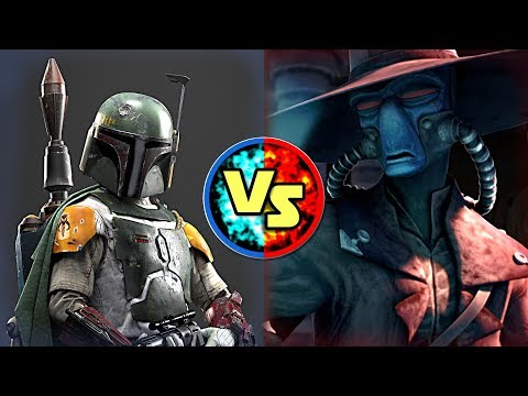 Star Wars Versus: Boba Fett VS Cad Bane  Star Wars Basis Versus #2