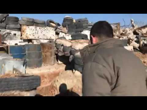 Explore once rebel-held military tunnels in Eastern Aleppo