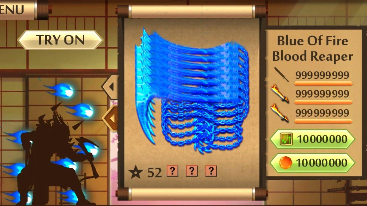 แจกโปรเกม Shadow Fight 2 MOD Blue Fire Blood Reaper +Link/มีลิ้งโหลด | ล่าสุด | โคตรโกง