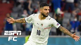 Belgium vs Italy reaction BEAUTIFUL performance by the Azzurri Alessandro Del Piero ESPN FC