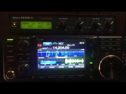 Icom IC 7600 Vs IC 7300, 14Mhz SSB