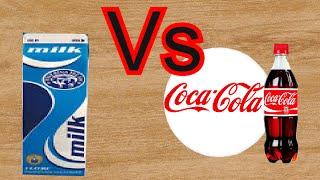 Кола + молоко. Жесть. Cola + milk