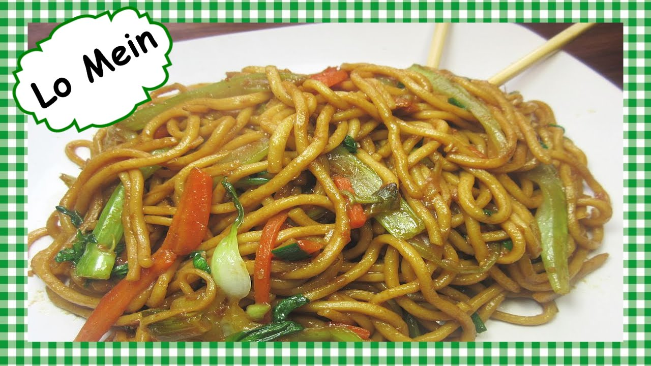 How to make the best chinese lo mein chinese food recipe youtube forumfinder