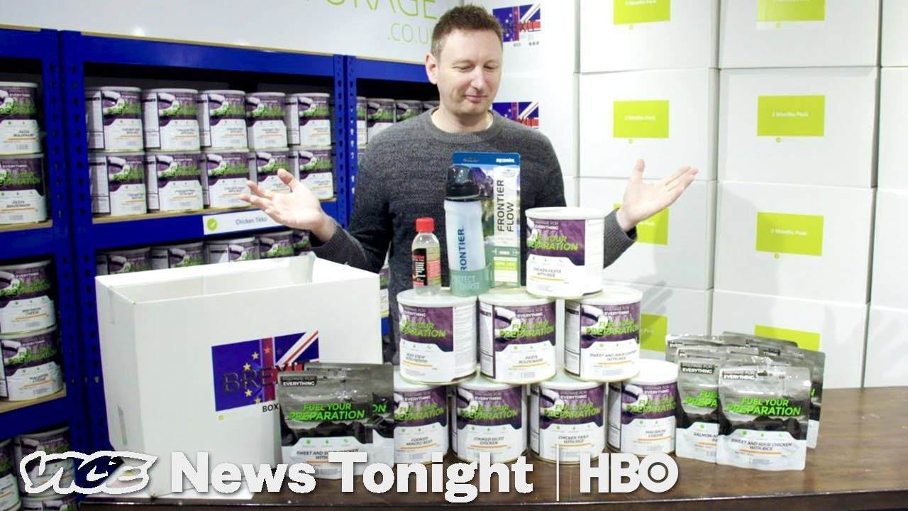 How Brits Are Preparing For A Post-Brexit Apocalypse (HBO)