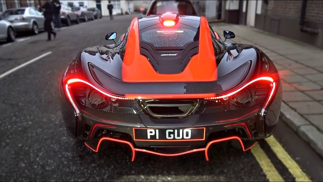 The most INSANE McLaren P1 driving in London and revs!!