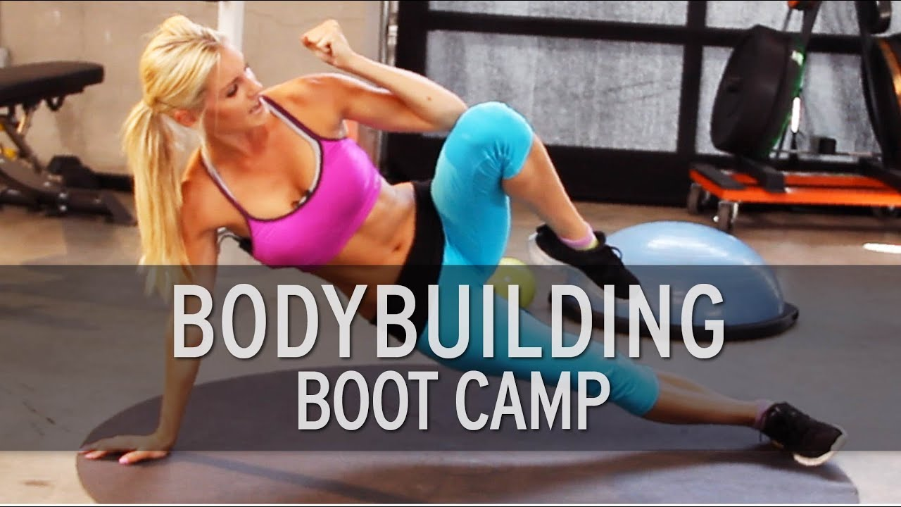 how to create a boot camp workout
