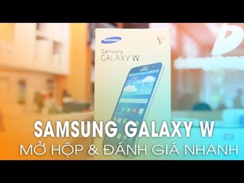 Samsung Galaxy W (SM - T255S): Mở Hộp, Đánh Giá Tổng Quan!