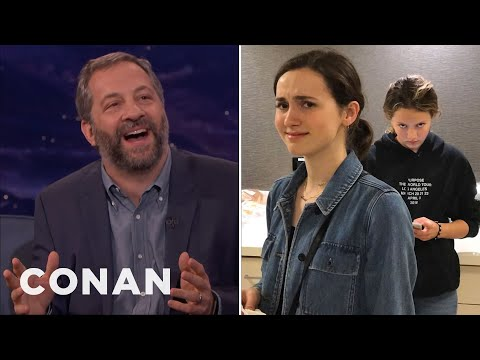 Judd Apatow: My Daughters Think I'm A Hollywood Dick  - CONAN on TBS