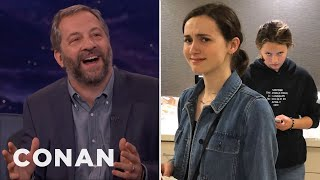 Judd Apatow: My Daughters Think I'm A Hollywood Dick  - CONAN on TBS thumbnail