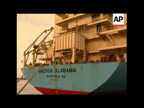 US ship attacked by Somali pirates in port, crew members