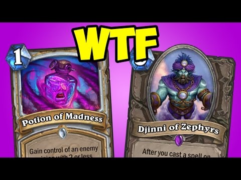 [Hearthstone] The FUNNEST Deck Ever: Djinni Priest