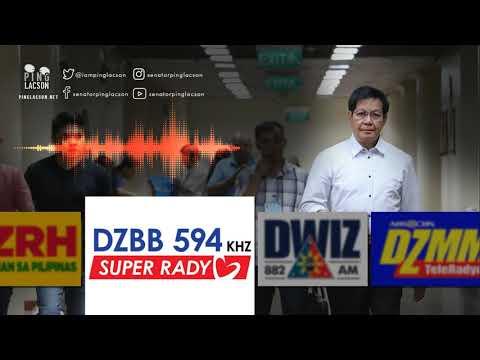 Interview on DZBB | Dec. 9, 2018