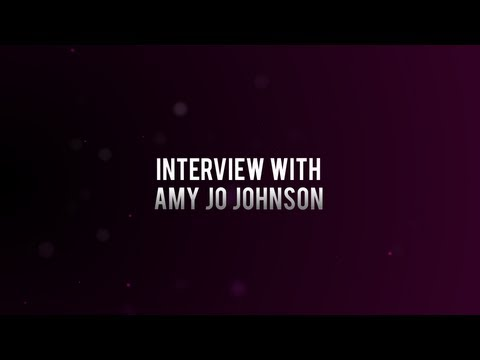 Interview with Amy Jo Johnson (Audio Only)