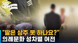"""""""아들·사위 없으니 상주는 男조카"""" …"""