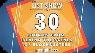 30 Stories from Behind the Scenes of Blockbusters - mental_floss - List Show (241)