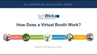 How can a virtual booth work?