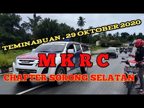 Teminabuan 29 Oktober 2020 , MKRC Chapter SORONG-SELATAN