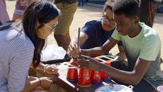 Stanford's Leland Scholars build boats to build community