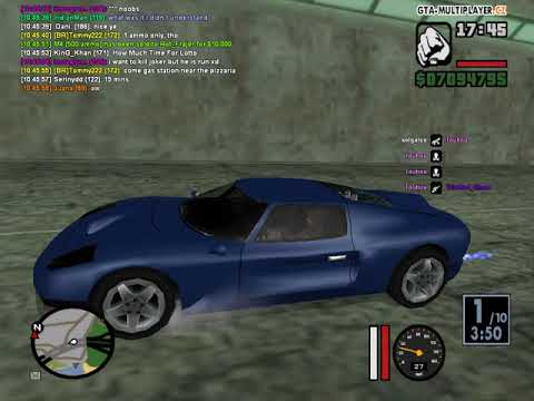 Gta sa WTLS 2 32 player race