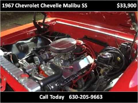 1967 Chevrolet Chevelle Malibu Ss Used Cars Chicago Il Youtube