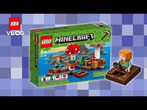 LEGO Minecraft The Mushroom Island 21129 Speed Build Time Lapse ...