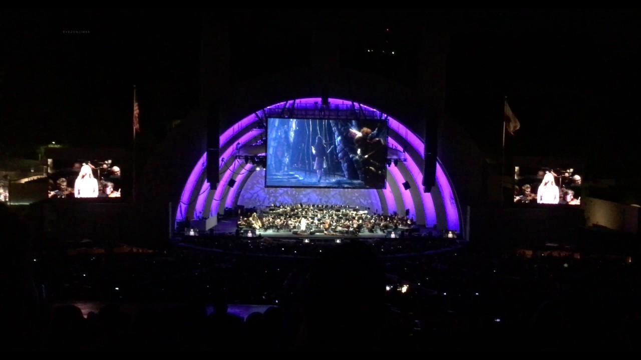 Tim Burton's The Nightmare Before Christmas   Sally's Song Hollywood Bowl 2016 - YouTube