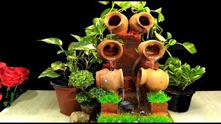 How to make double Terracotta Fountain / DIY