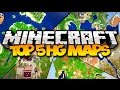 TOP 5 MINECRAFT HUNGER GAMES MAPS! (Best Survival Games Maps)