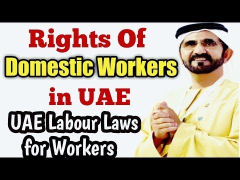 Rights Of DOMESTIC WORKERS In UAE | UAE Labour Laws in Detail.. Hindi/Urdu