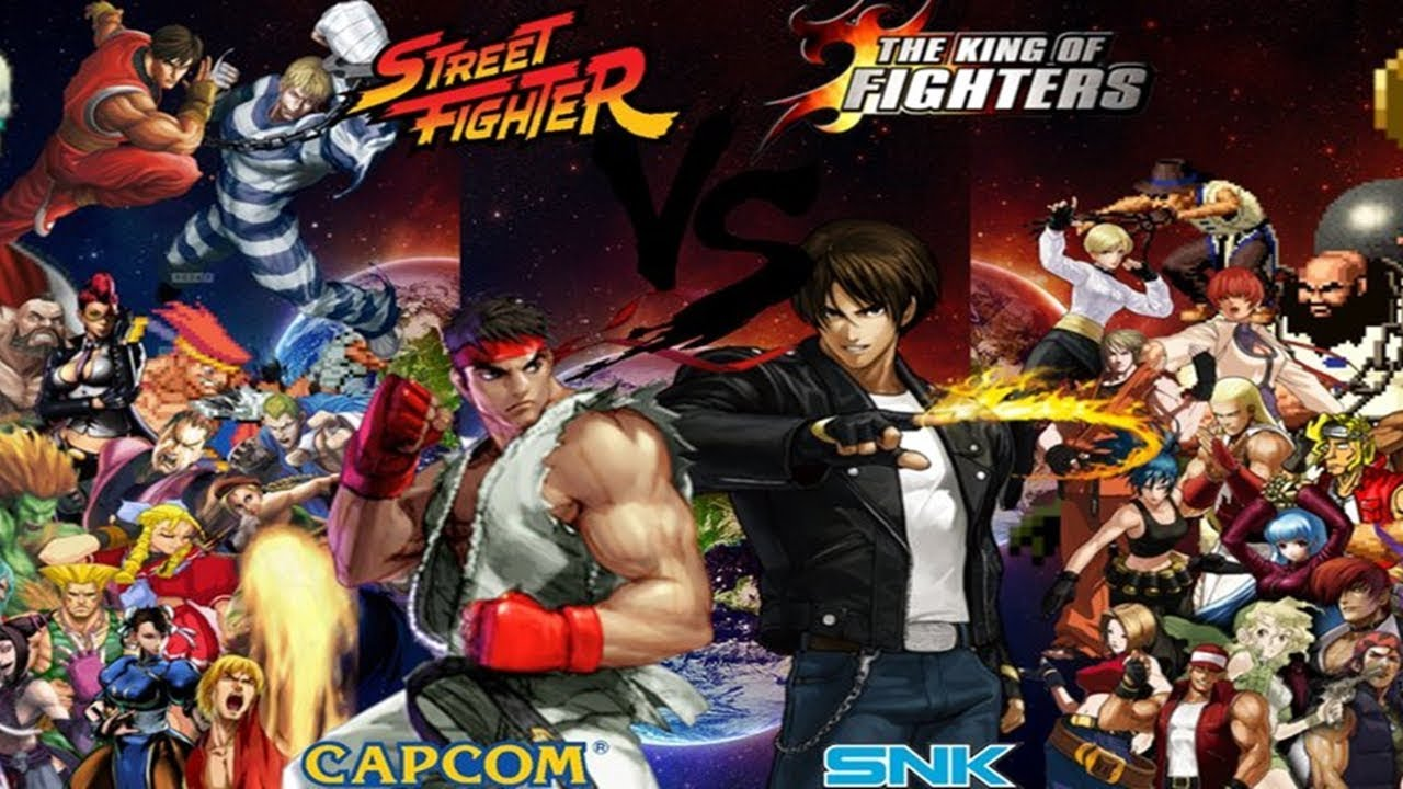 Street Fighter VS King Of Fighters Cual Es Mejor? En Vivo - YouTube