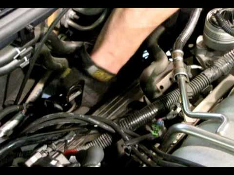 ml320 engine diagram 6 ohm subwoofer wiring diagrams exhaust back pressure testing - youtube