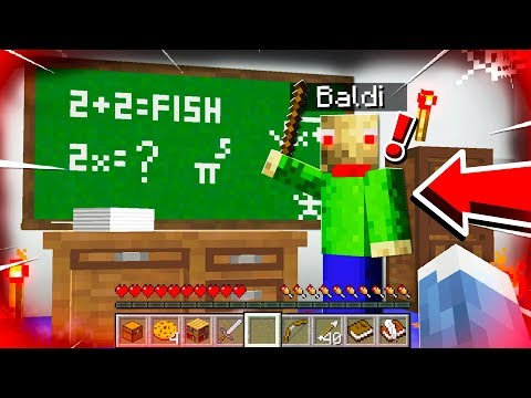 DO NOT ENTER BALDI'S BASIC'S SECRET BASE! **SCARY**