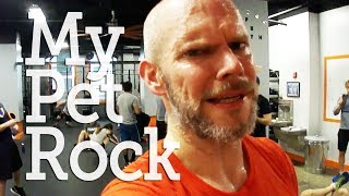 CRAZY WORKOUT WITH MY PET ROCK