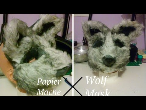 Furry Animal Mask Tutorial