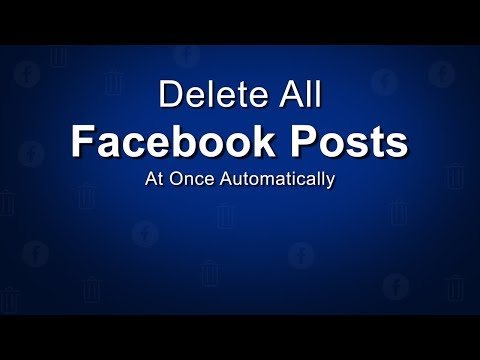 How to delete all timeline photos on facebook page