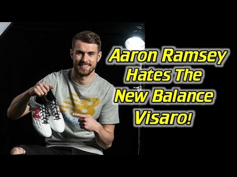 Aaron Ramsey Custom New Balance Visaro - One Take Review + On Feet