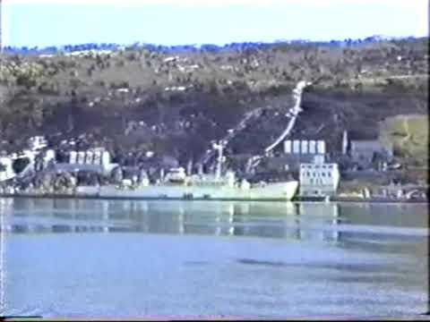 Weather Ship VOLNA in St. John's, Newfoundland, 1990